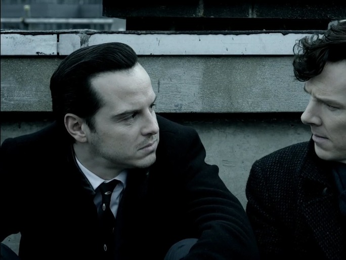 Sherlock and Moriarty