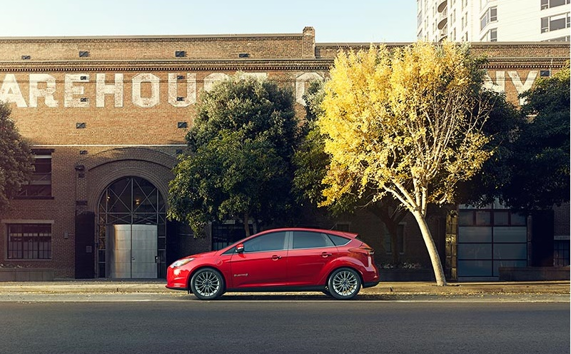 Ford Focus Electric warehouse