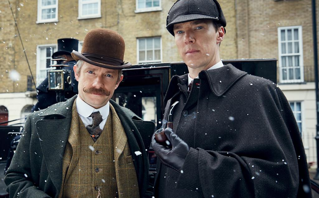 Martin Freeman and Benedict Cumberbatch