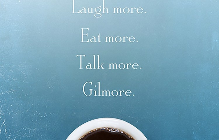 Poster featuring coffee for Gilmore Girls: A Year in the Life