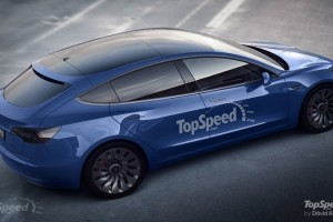 Here's What a Tesla Model 3 Hatchback Could Look Like