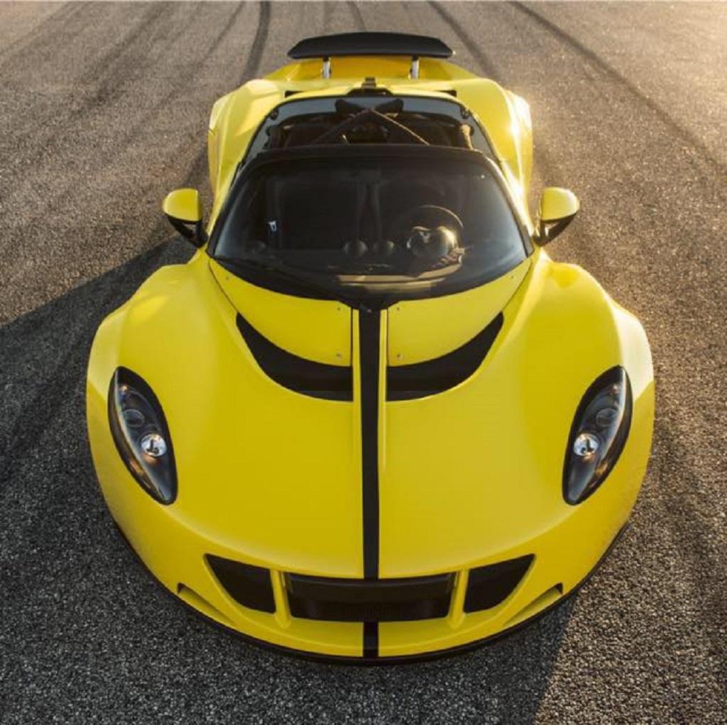 World's fastest car, Hennessey Venom GT Spyder