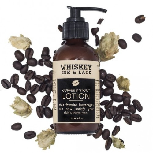 Whiskey, Ink, and Lace Coffee and Stout Lotion