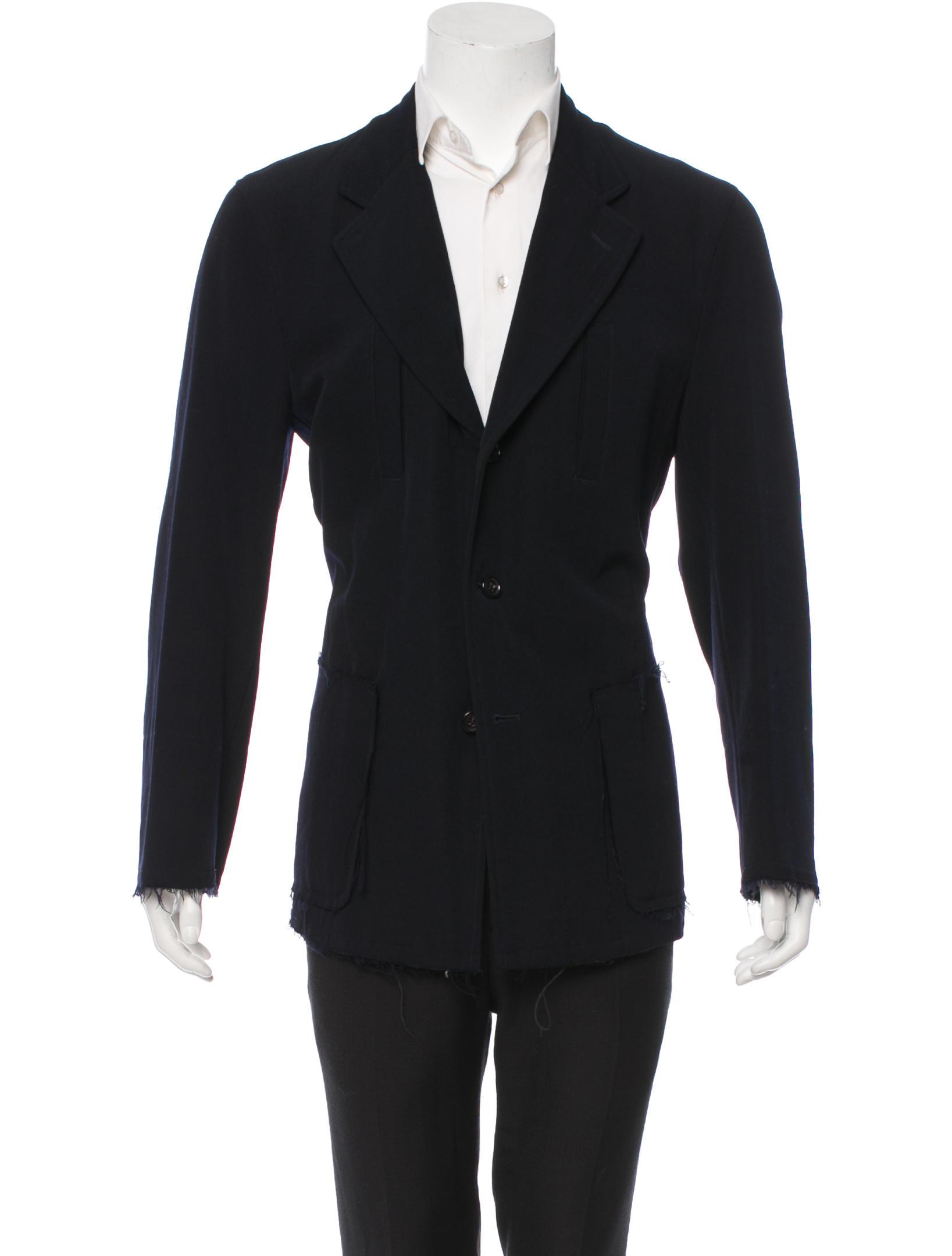 Light-weight wool jacket