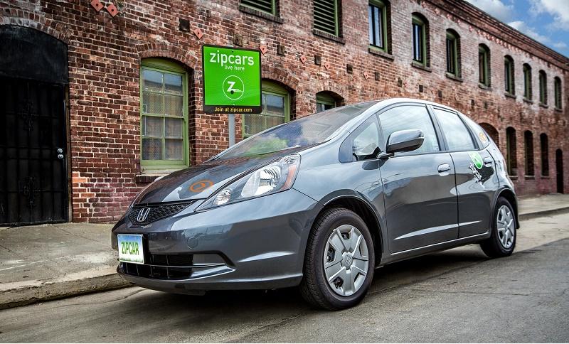 ZipCar's one-way service runs on Honda Fits