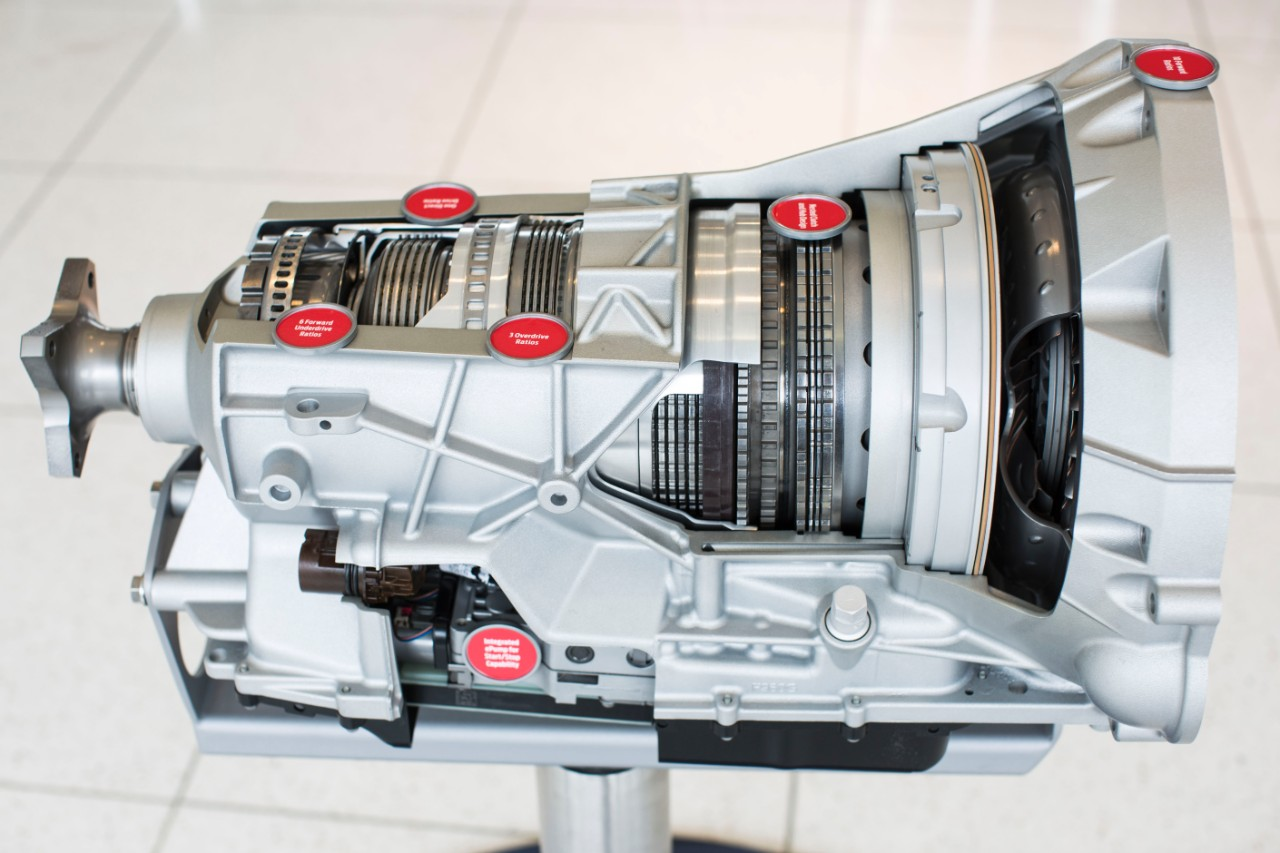 Ford 10-Speed Automatic Transmission