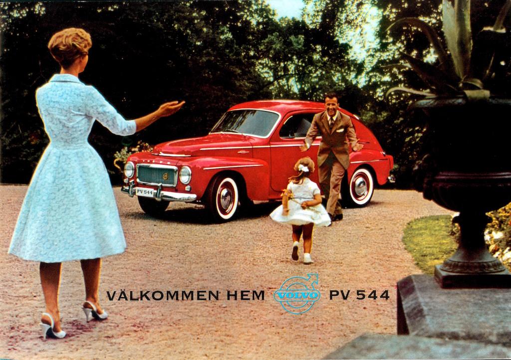 Volvo PV 544 advertisment