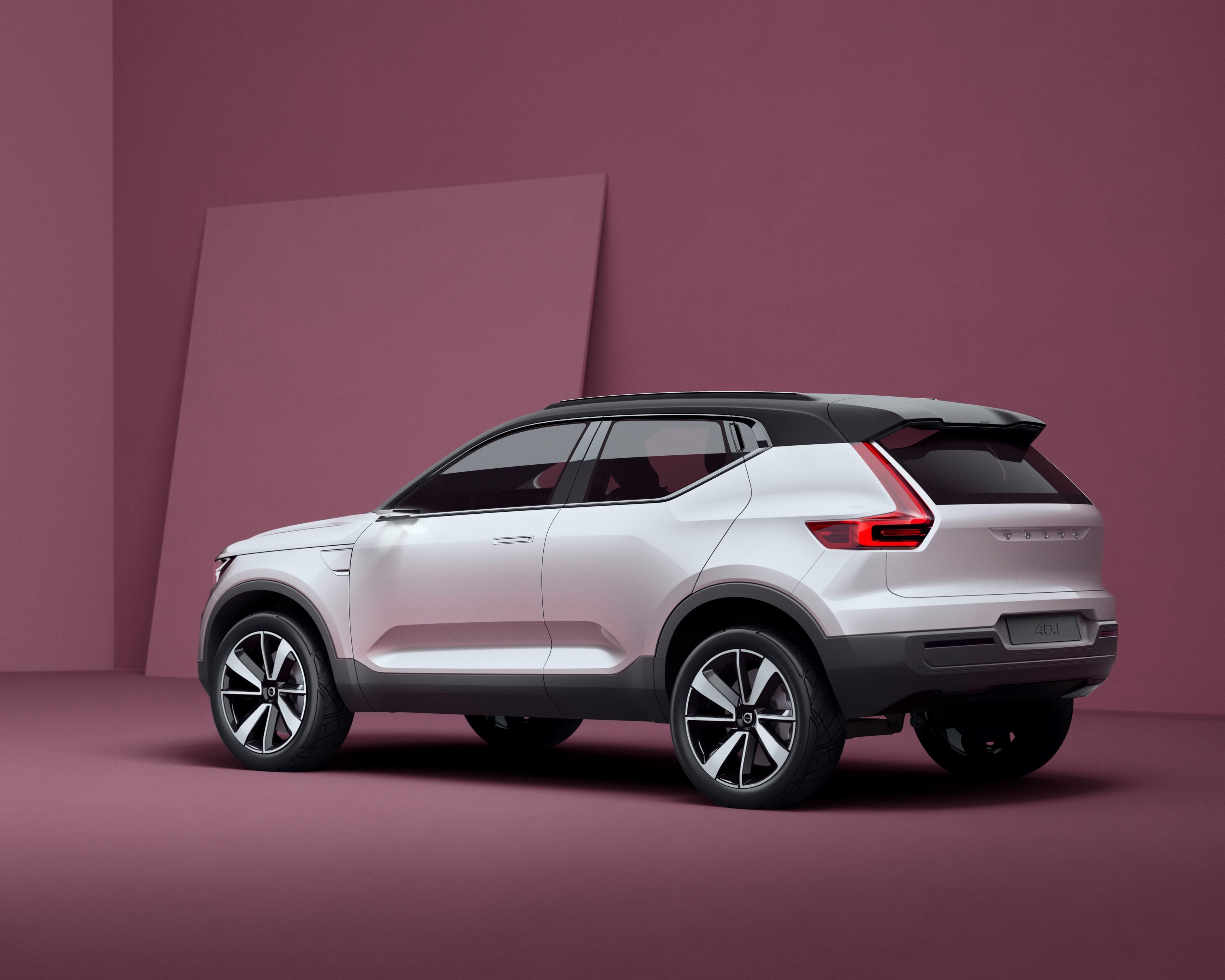Volvo Concept 40.1 rear three-quarters