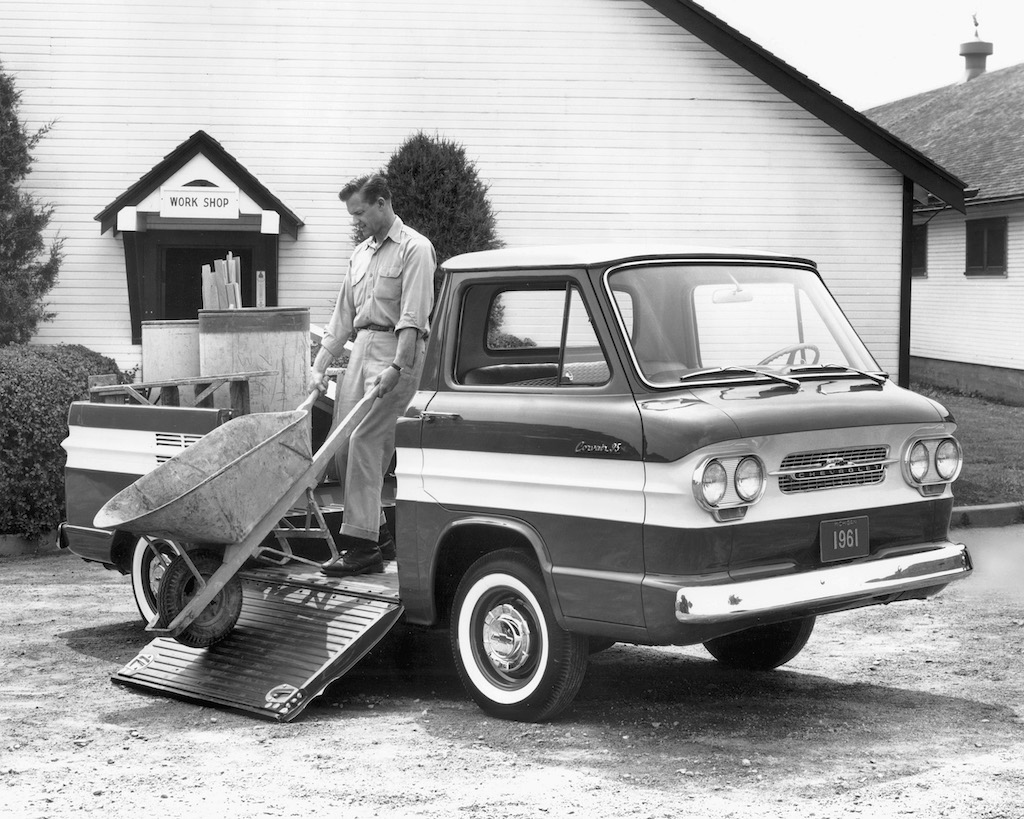 1961 Chevrolet Corvair 95 Rampside