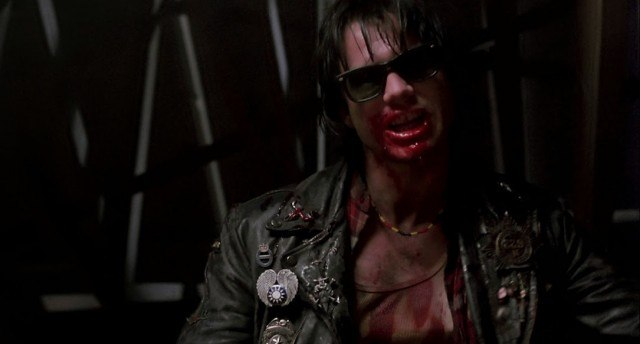The vampire Severen (Bill Paxton) in a scene from Kathryn Bigelow's underrated horror film 'Near Dark.'