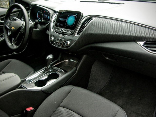 Fully redesigned interior