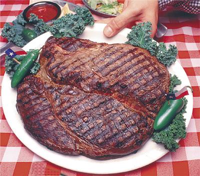 72 ounce steak