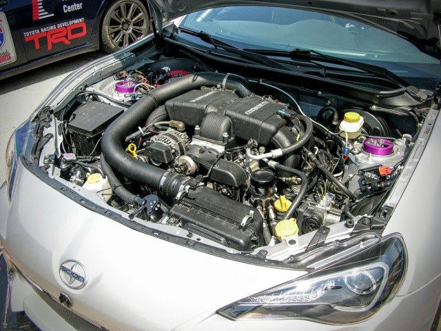 Supercharged Scion FR-S engine