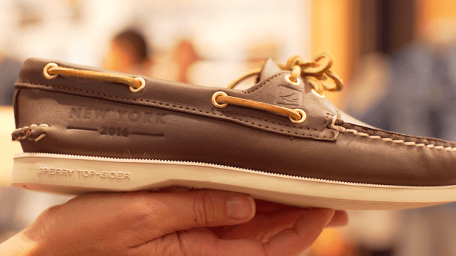 sperry boat shoe, america's cup