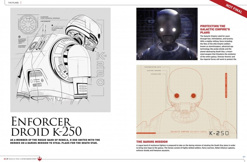 K-250 - Alan Tudyk, Star Wars: Rogue One