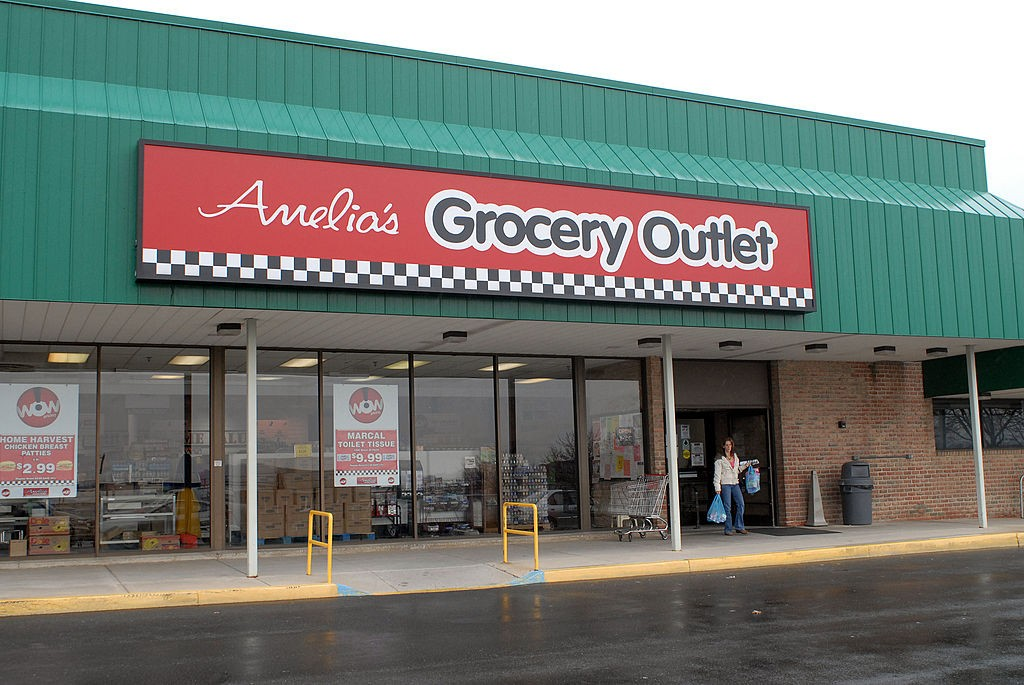 Amelia's grocery outlet logo