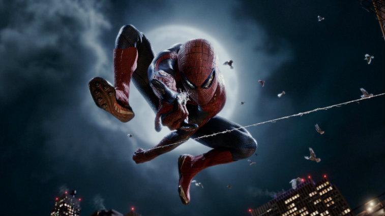 Andrew Garfield in The Amazing Spider-Man, origin stories