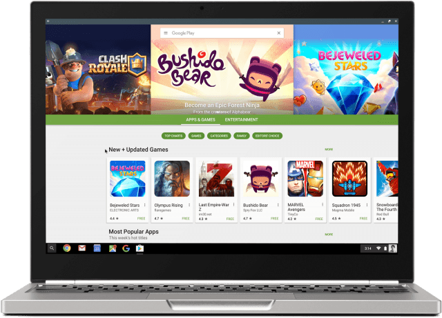 Beginning this summer, Chromebooks will be able to run Android apps