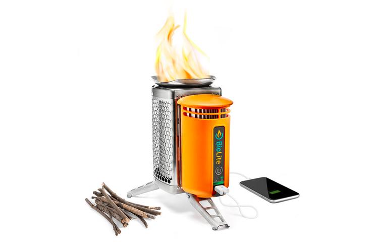 BioLite camp stove - camping gear
