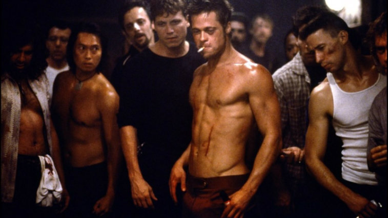 Brad Pitt in Fight Club