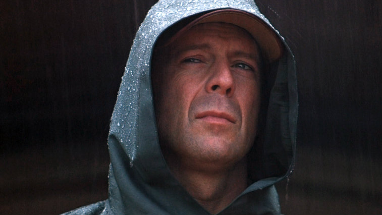 Bruce Willis in Unbreakable, best superhero movies