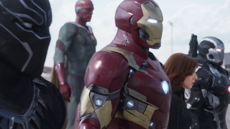 Team Iron Man in Captain America: Civil War