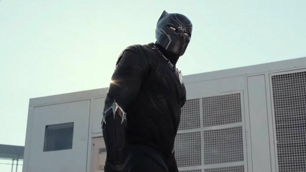 Chadwick Boseman in Captain America Civil War