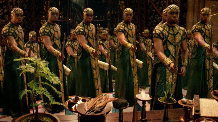 Chadwick Boseman in Gods of Egypt