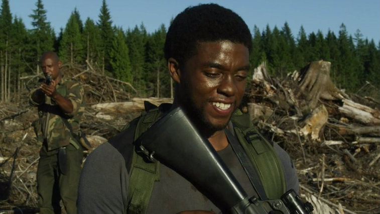 Chadwick Boseman in The Kill Hole
