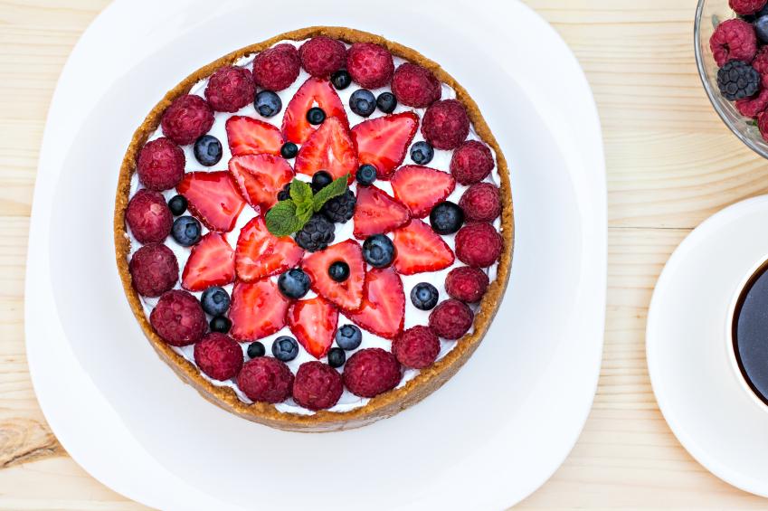 No Bake Strawberry Cheesecake Berries Cheesecake