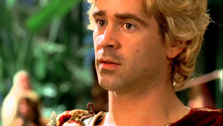 Colin Farrell in Alexander, lead actor