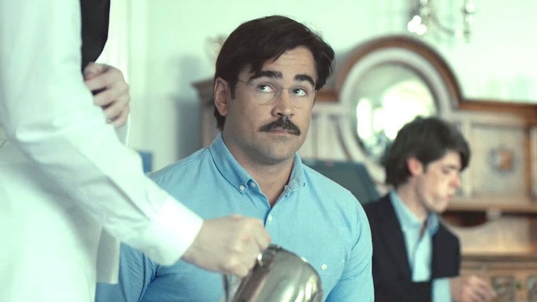 Colin Farrell in The Lobster