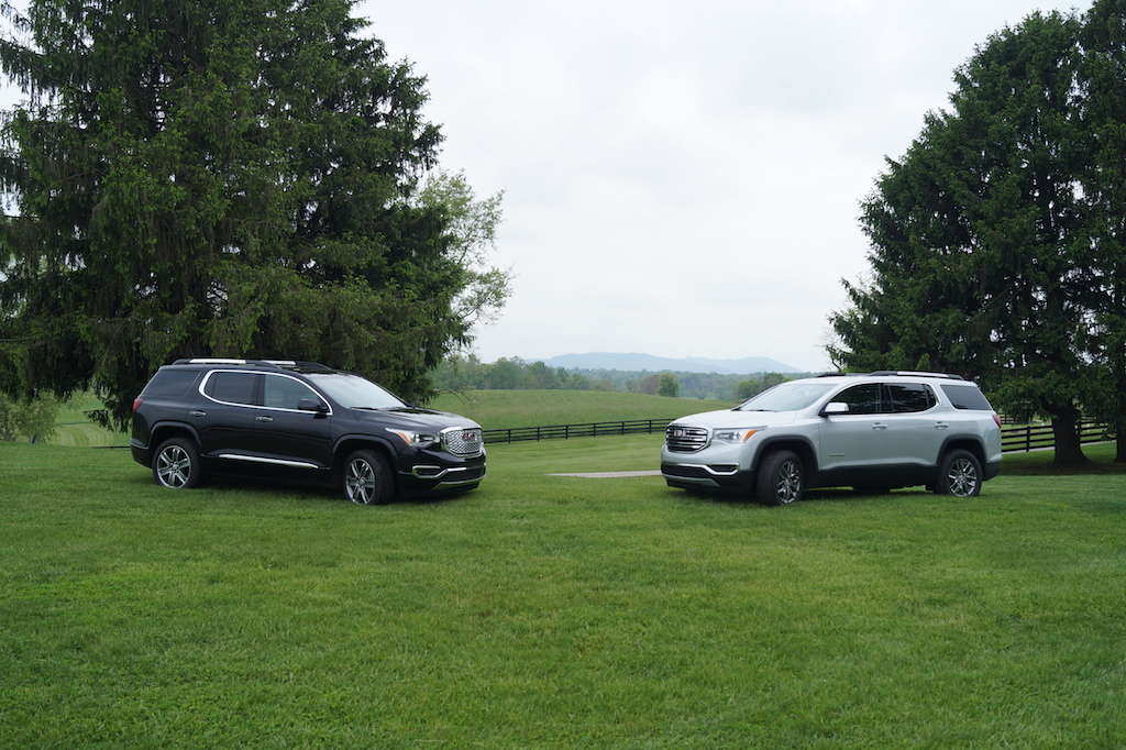 GMC Acadia Denali and SLT