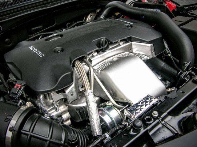 Turbocharged 2.0-liter engine | Micah Wright/Autos Cheat Sheet