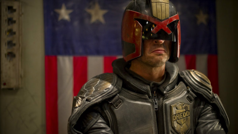 Karl Urban in Dredd, best superhero movies