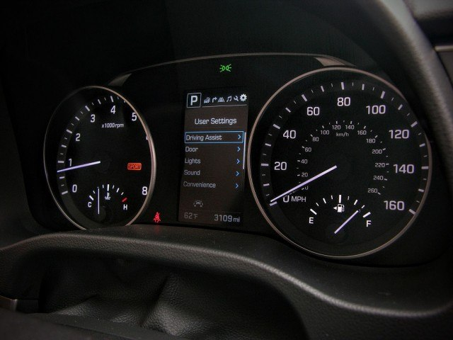 MID and gauge cluster
