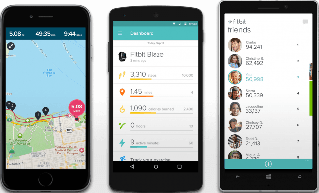 Fitbit apps