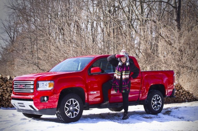 Jean Jennings with GMC Canyon