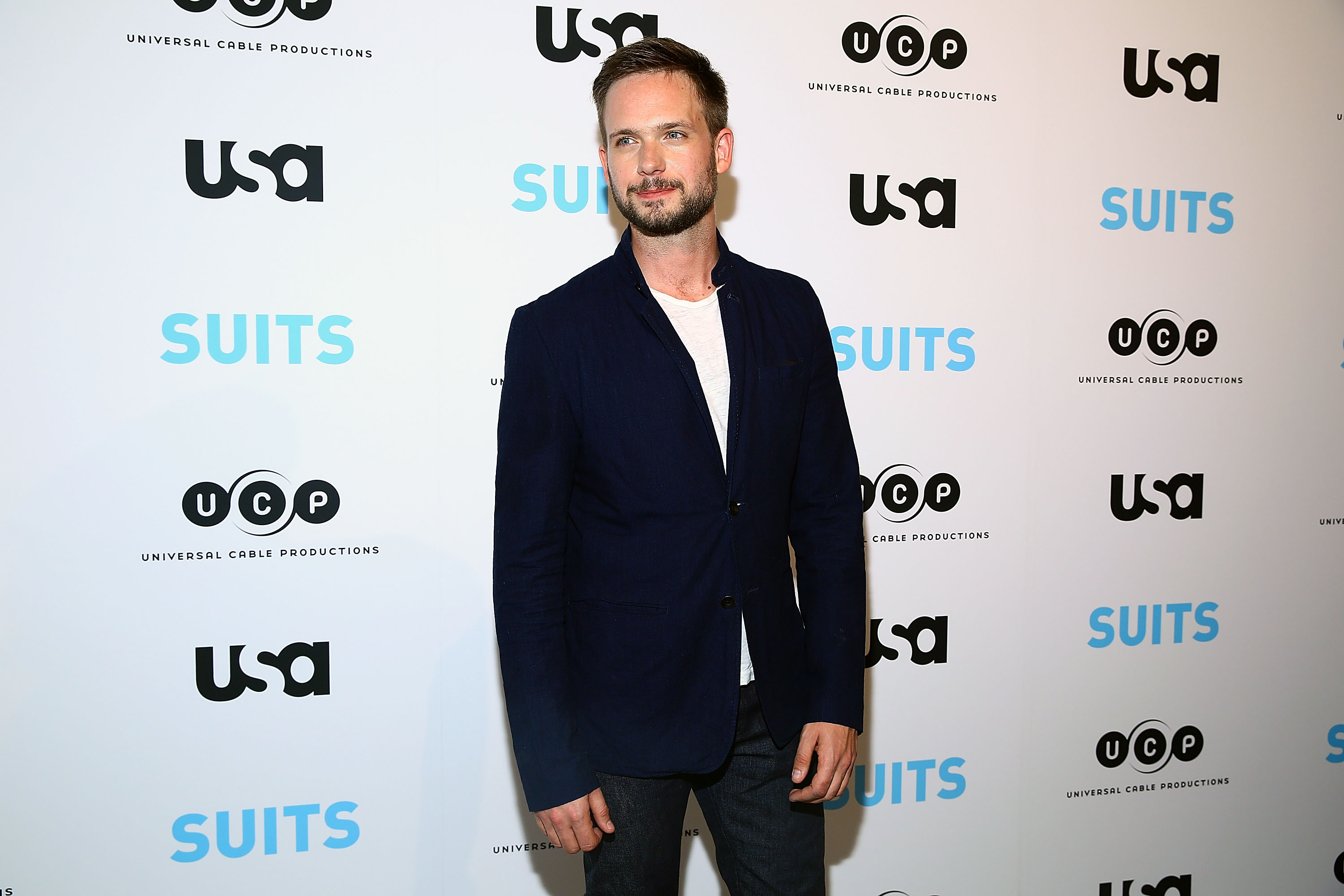 Patrick J. Adams | Astrid Stawiarz/Getty Images