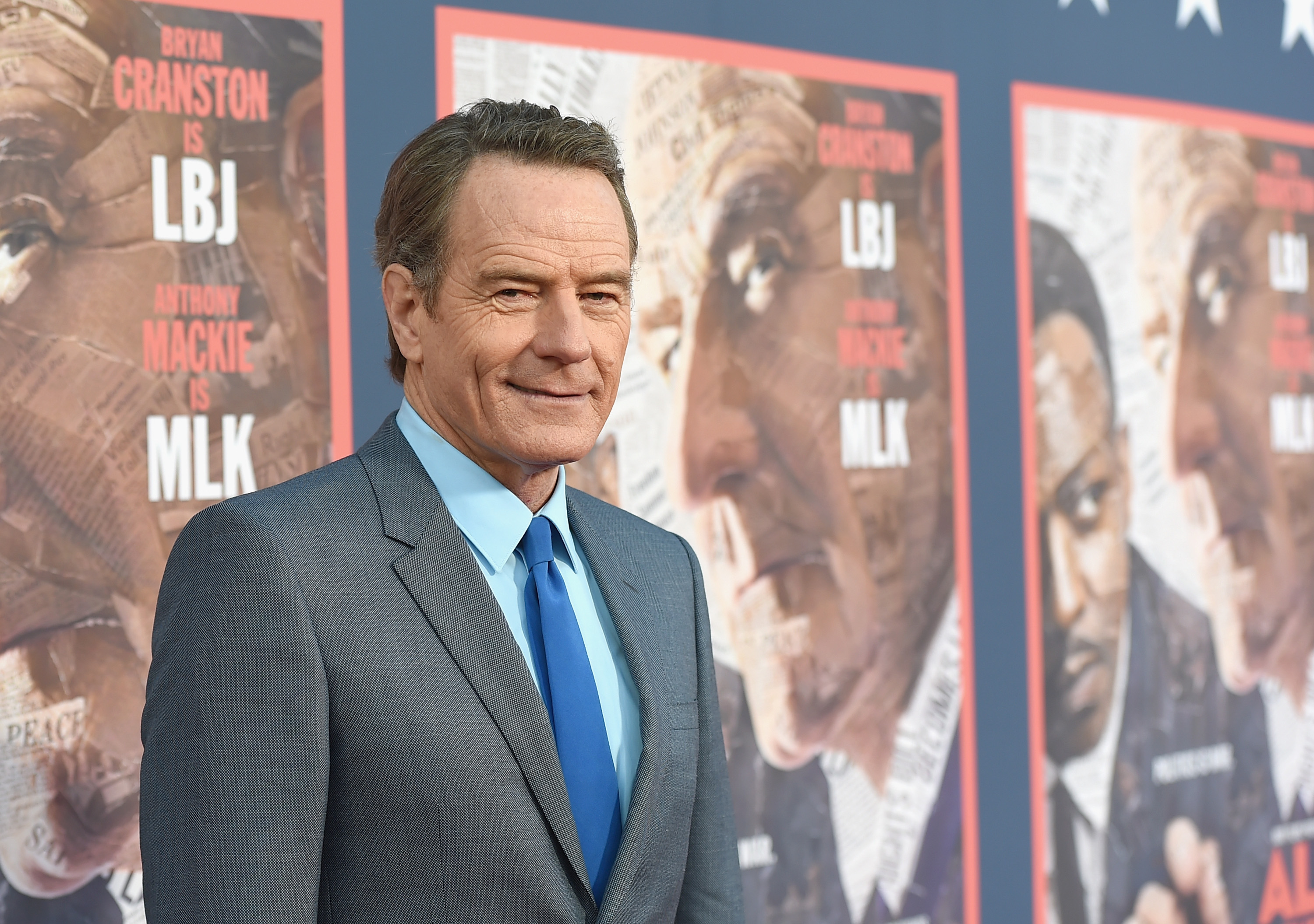 "Actor Bryan Cranston attends the ""All The Way"" Los Angeles Premiere at Paramount Studio"