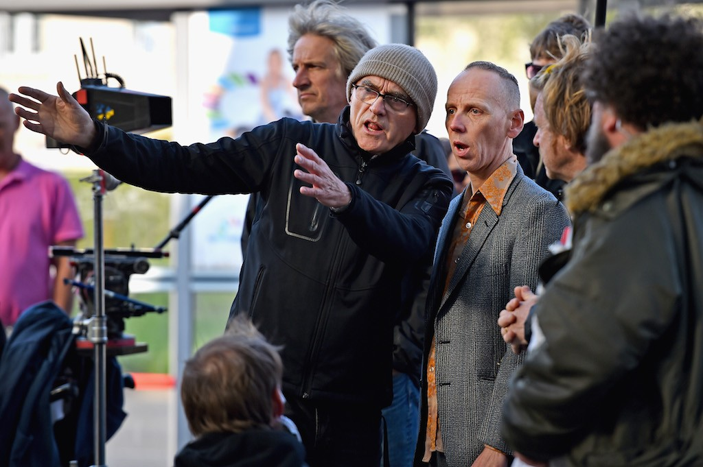 Danny Boyle, Ewan Bremner on Trainspotting 2 set | Jeff J Mitchell/Getty Images