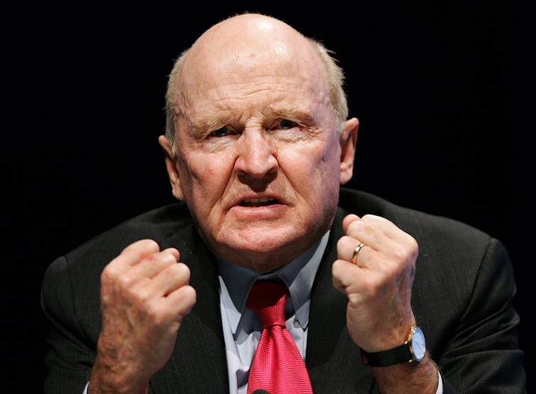 Former General Electric chairman Jack Welch | Thomas Lohnes/AFP/Getty Images