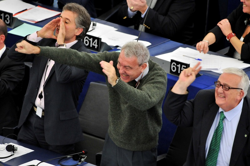 Italian politicians jeering at a vote could define toxic co-workers