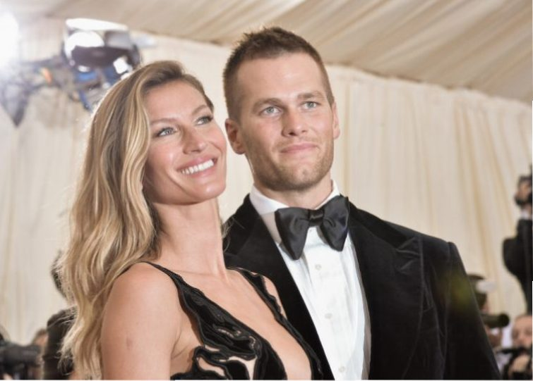Gisele Bündchen and Tom Brady at the Costume Institute Gala.