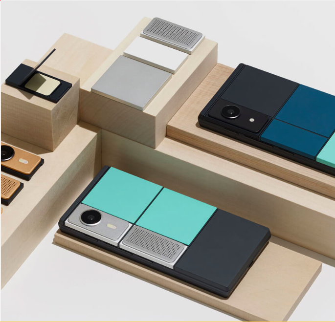 Google Project Ara base frame and modules