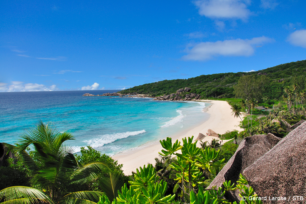 Grand Anse beach, La Digue, Seychelles