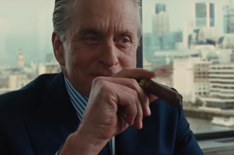 Gordon Gekko in Wall Street, greedy