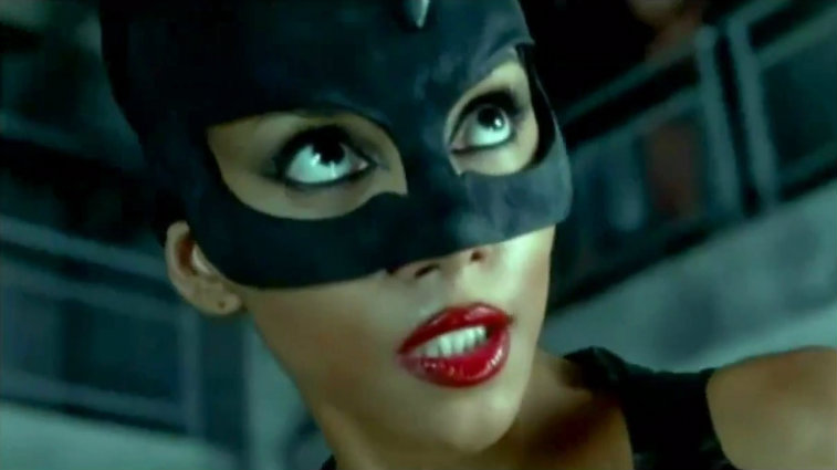 Halle Berry in Catwoman, origin stories