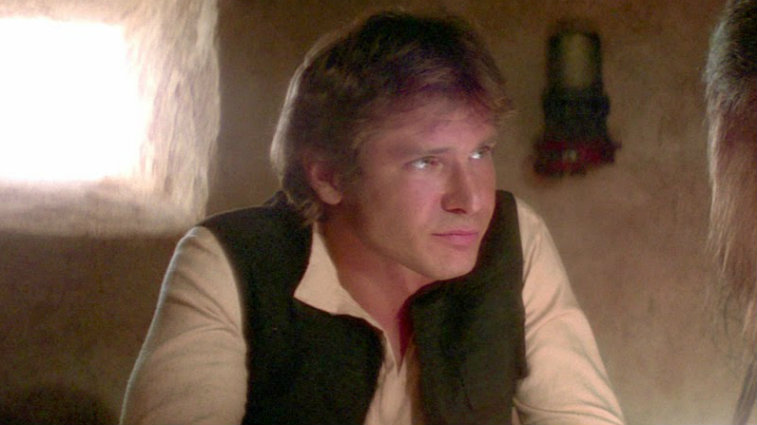 Han Solo in Star Wars: A New Hope