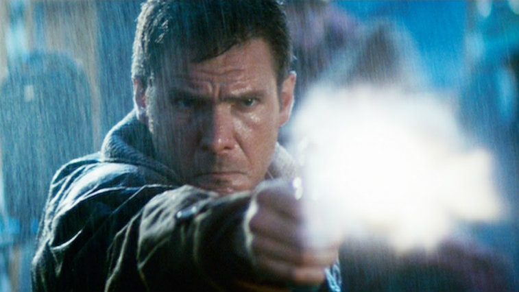 Harrison Ford in Blade Runner